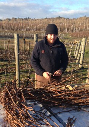 Simon from Two Paddocks, Central Otago, won the CO Young Viticulturist of the Year competition, 2013. #nzwine