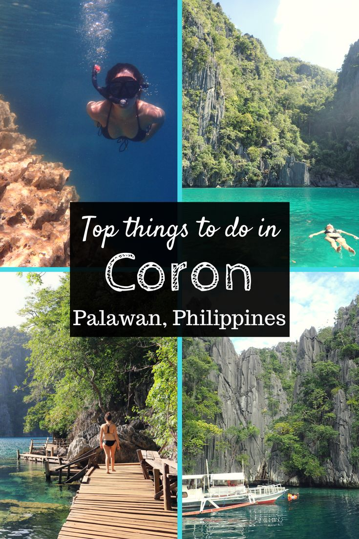Top things to do and travel itinerary for Coron, Palawan. A guide on what to do and where to go during your time in this tropical paradise filled with towering limestone cliffs, aquamarine waters and pristine white beaches.