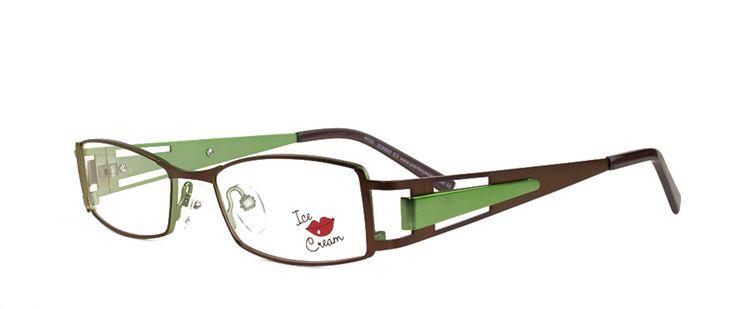 ICE CREAM 8900 IC C3 COFFEE/GUN | Vogue Optical - 2nd Pair Free - Designer Glasses, 2 Year Guarantee