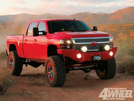 Off-road Chevy truck.. just how I like 'em