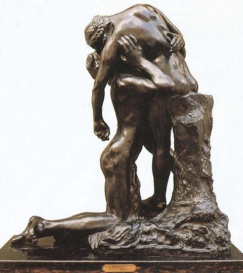 Camille Claudel. Abandoned. 1905  Reminds me of Jesus and Mary after he was taken down from the cross and placed into the arms of his mother.