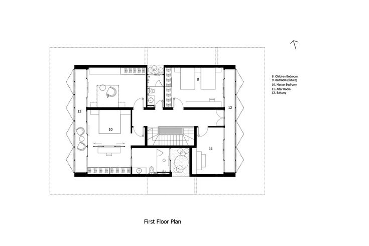 Gallery Of 58 House 85 Design 32 Ground Floor Plan Design Floor Plans House floor plan rules