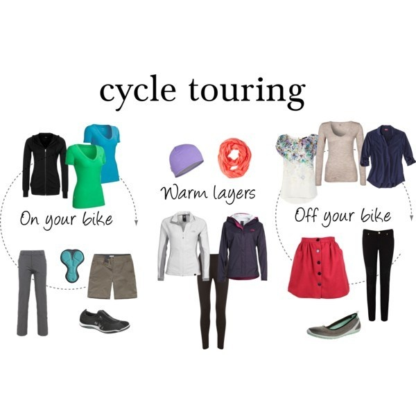 Adventure travel: What to pack for cycle touring?