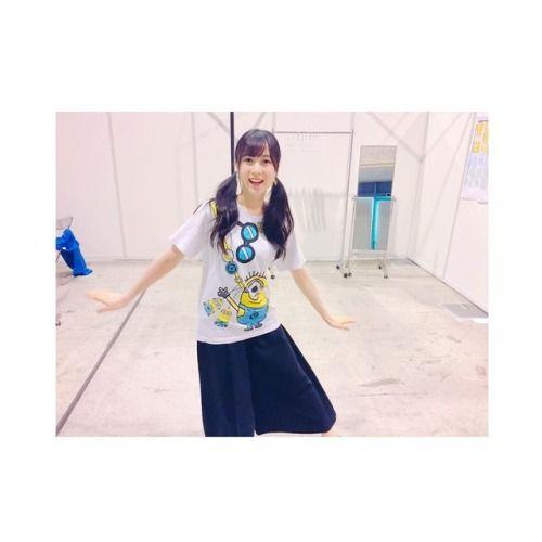 インテックス大阪での握手会2日目終わりましたぁー楽しかったぁ(ᴗ) 午前中はUSJコーデをしました #インテック... #Team8 #AKB48 #Instagram #InstaUpdate