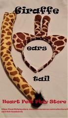 Giraffe Ears n Tail Set