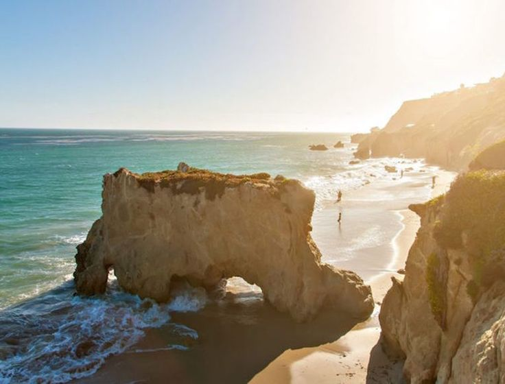 The Malibu Beach Guide: El Matador State Beach, with its breathtaking sunsets this beach is perfect for your next family photoshoot