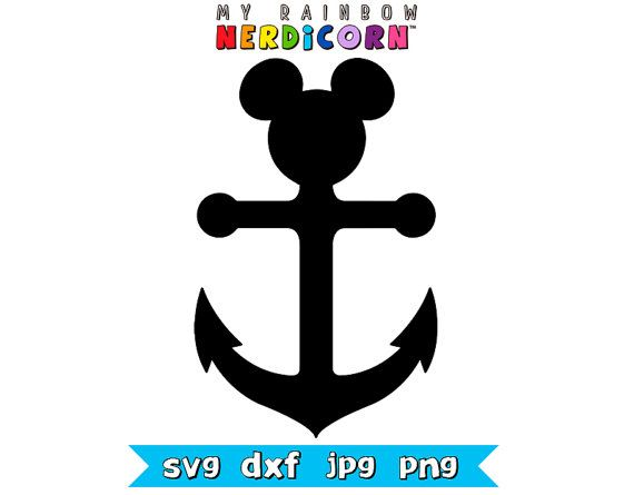 Tactueux image inside mickey anchor printable