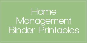 A ton of printables to help you put together the perfect Home Management binder for you and your family.