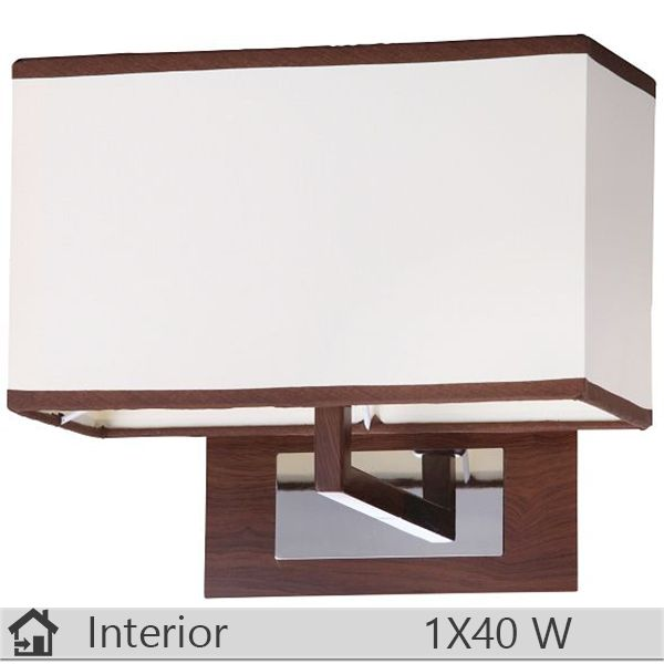 Aplica iluminat decorativ interior Rabalux, gama Kubu, model 2895 http://www.etbm.ro/aplice-si-plafoniere