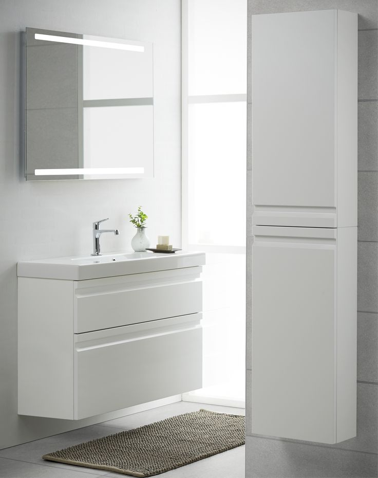 The Mini Menuet washbasins are particularly suited for shower rooms and other bathrooms with limited space.