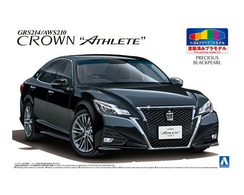 TOYOTA GRS214/AWS210 CROWN ATHLETEu002715 (PRECIOUS BLACK PEARL)|AOSHIMA|
