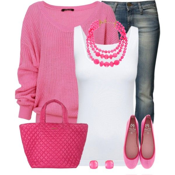Comfy in Pink by stay-at-home-mom on Polyvore featuring Boody, Miss Sixty, Kate Spade and katespade