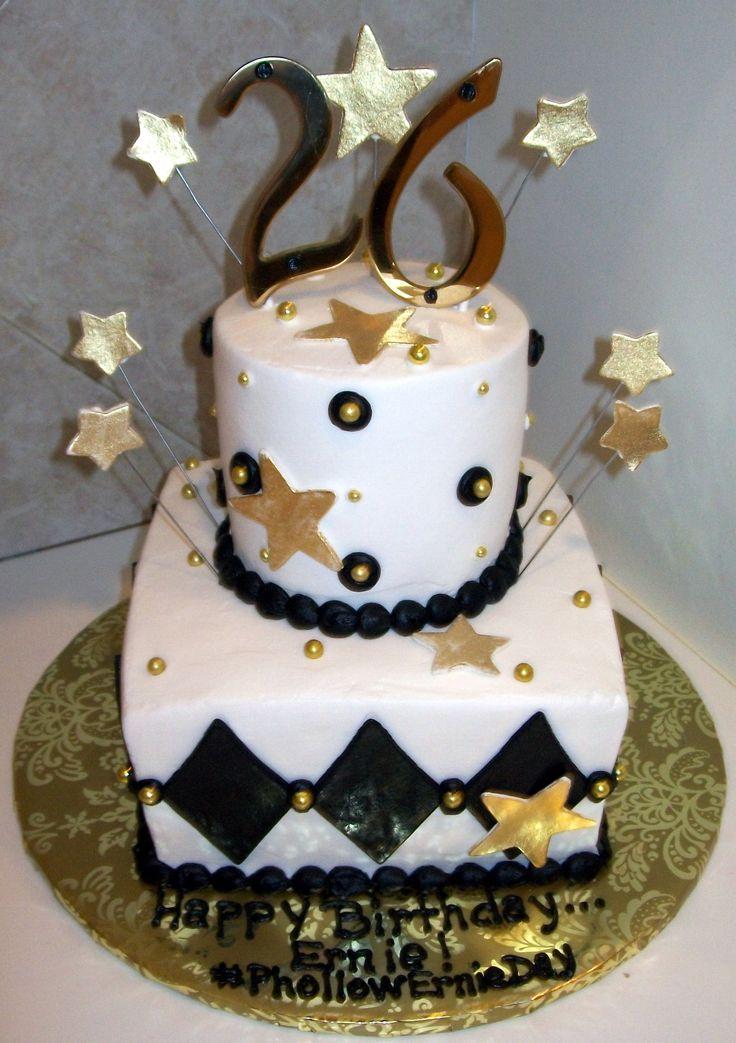 26th birthday cake for men