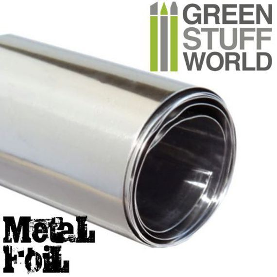 Feuille de métal flexible Papier d'étain par GreenStuffWorld