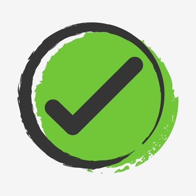 Simbolos Verdaderos Y Falsos Aceptan Rechazados Para Evaluacion Vector Estilo Simple Y Moderno Si Clipart Responder Aprobado Png Y Vector Para Descargar Grat Logo Design Free Templates Logo Design Free Logo