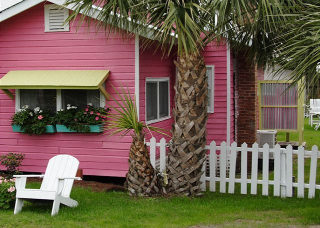 Tybee Island, GA United States - Old Love Cottage c1921 | Mermaid Cottages, LLC