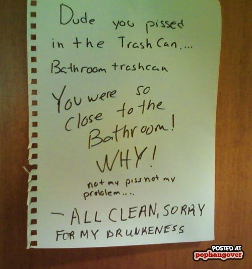 25+ Best Ideas About Roommate Notes On Pinterest