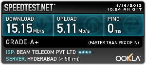 Check out my result from Speedtest.net! http://www.speedtest.net/result/2649003243.png
