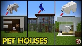 3 Minecraft Starter MODERN HOUSE Designs - Minecraft Servers View
