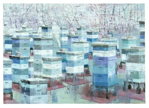 Frank Brunner Abaton Oil on canvas