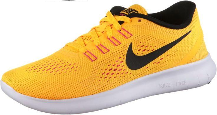 #Nike #Free #Run #Laufschuhe #Damen #orange -