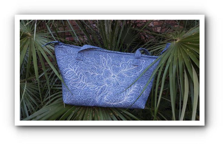Indigo Shweshwe Shopper bag by gogothabo on Etsy
