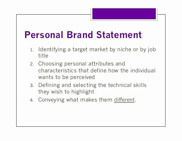 Personal Branding Statement Example Inspirational The 25 Best Brand Examples Your