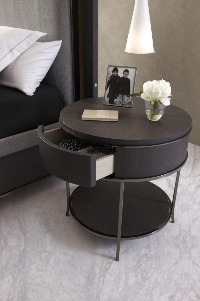 die besten 25 nachttisch holz ideen auf pinterest. Black Bedroom Furniture Sets. Home Design Ideas