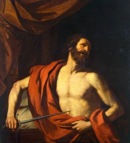 Suicide of Cato, Guercino