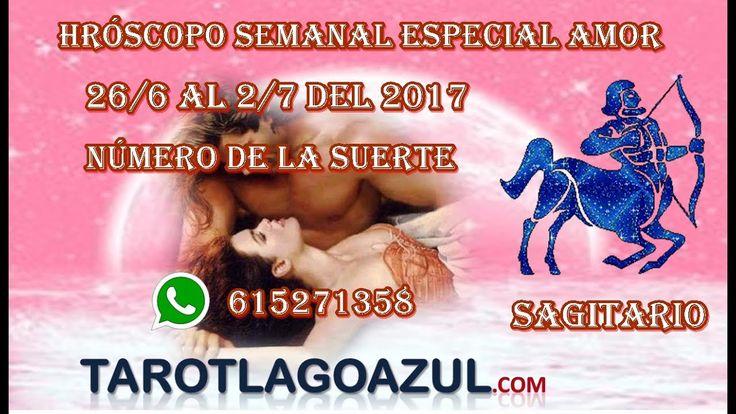 Horóscopo sagitario del  26/6  al 2/7 de 2017| tarot amor barato| 931220236