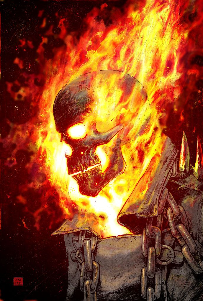 Ghost Rider - Tony Moore