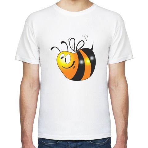 Футболка Толстая пчелка - Простые картинки