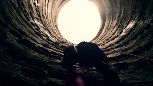 """Prisoner: """"Why build yourself?""""  Bruce Wayne: """"I am not meant to die in here."""" - The Dark Knight Rises"""