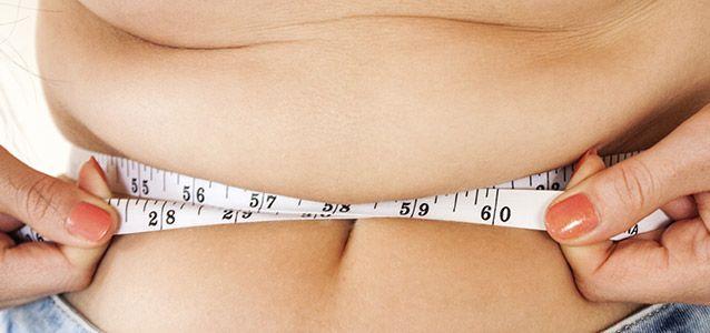 Hose zu eng?  Am Bauch abnehmen - so gehts.