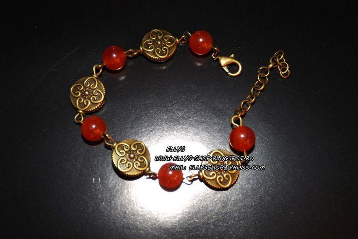Ellys Shop: Bratara jad si accesorii bronz