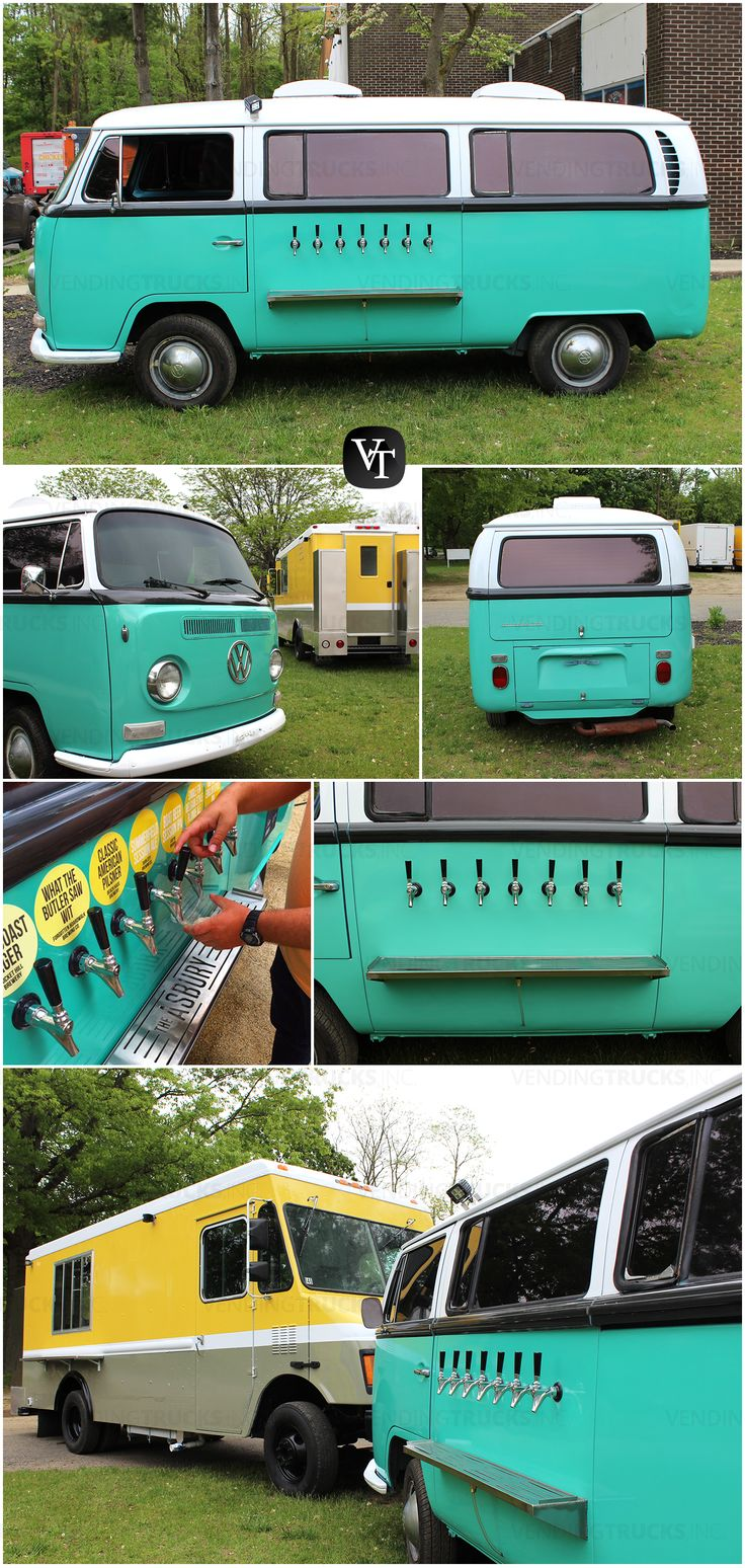 The Asbury Hotel | VW Beer Tap Van & Food Truck | Asbury Park, NJ | Vending Trucks, Inc. www.vendingtrucks.com