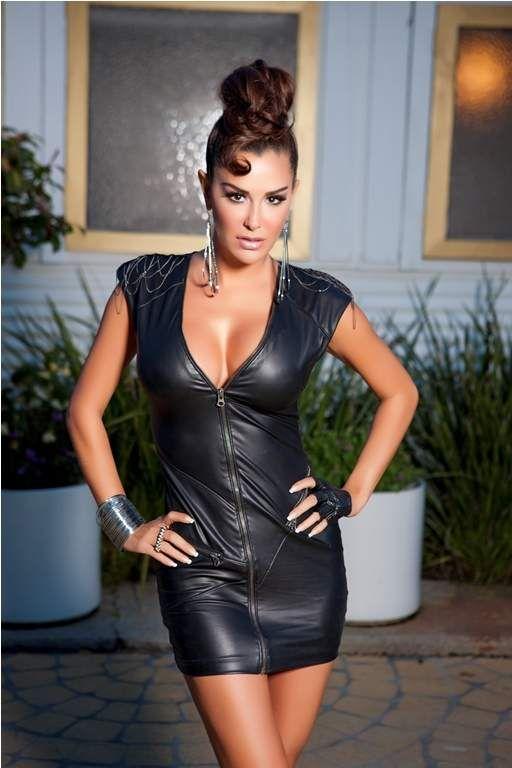 Ninel Conde Ninel Conde Pinterest Leather Dresses