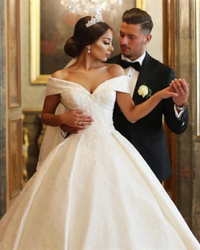 091f6e3f5 Item Description:Elegant Ball Gowns Lace Floor Length Dress Featuring Off -The-Shoulder