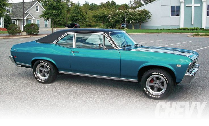 1968 Chevy Nova Side Photo 1