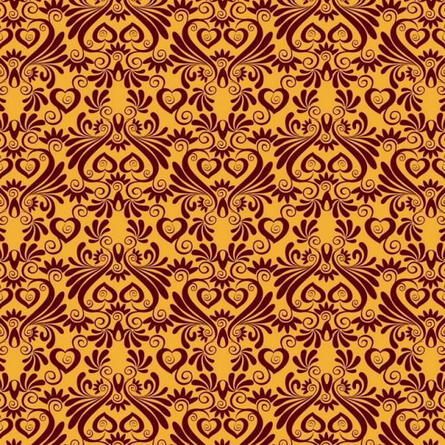 Seamless Luxury Ornamental Background Gold Damask Seamless Floral Pattern Abstract Antique Background Png And Vector With Transparent Background For Free Dow Background Abstract Damask