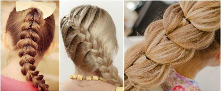 Прически для девочек Французская коса