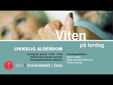 Viten på lørdag: Lykkelig alderdom - YouTube