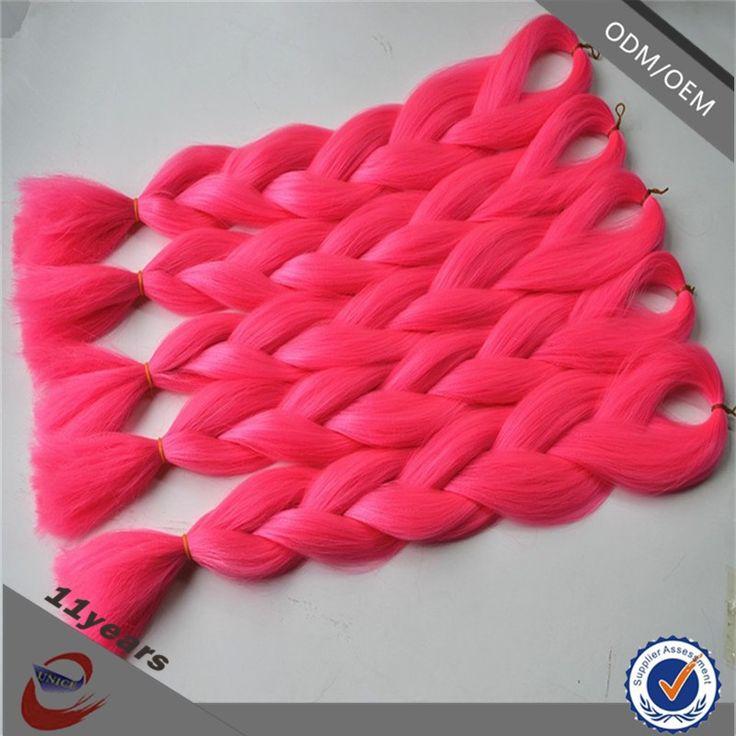 Single color jumbo braid 24inch 100gram/piece synthetic braiding hair super jumbo braid, View synthetic hair jumbo braid, Eunice Product Details from Yuzhou Eunice Hair Products Co., Ltd. on Alibaba.com