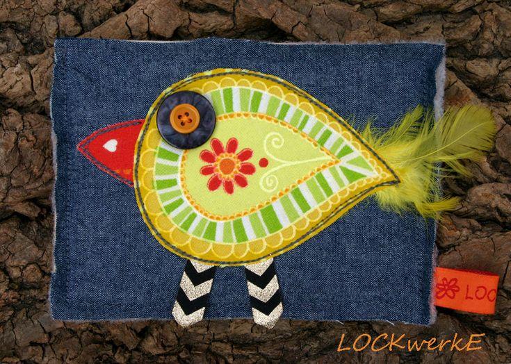 LOCKwerkE: STOFFKARTENTAUSCH Fühl dich frei wie ein Vogel
