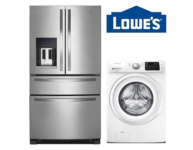 Up to 35% Off Lowe's Appliance Special Values Sale (lowes.com)