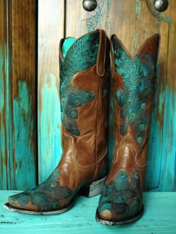 "LANE BOOTS ""TAIL FEATHER""!"