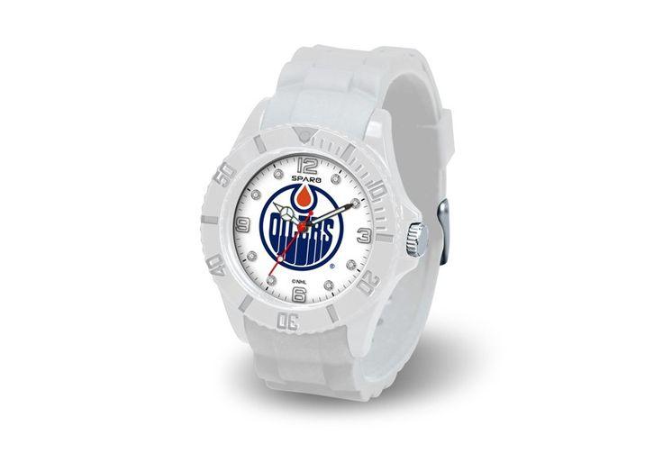 Edmonton Oilers White Cloud Wrist Watch
