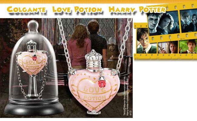 Colgante Love Potion  Harry Potter
