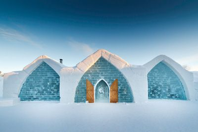 Hotel de Glace — Quebec City's Ice Hotel