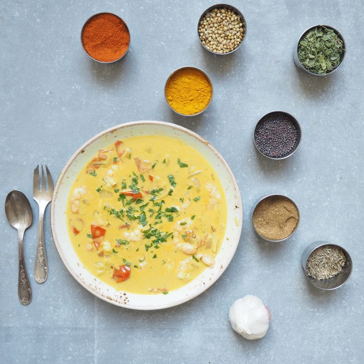 Madeleine Shaw: This brilliant Coconut Prawn Korma can be whipped up really quickly for a tasty and fragrant dinner.